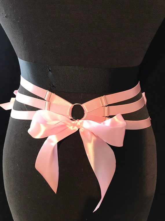 SISSY SATIN THIGH Bands by the luxury brand Yes Mistress