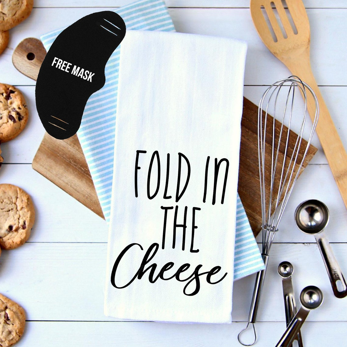 Top 27 Best Schitt's Creek Gifts from Etsy featured by top Seattle lifestyle blogger, Marcie in Mommyland: Favorite SC's Quotes Kitchen Towels Bundle-Pick 2 From 12 Fold In The Cheese