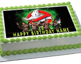Miraculous Ghostbusters Cake Etsy Funny Birthday Cards Online Alyptdamsfinfo