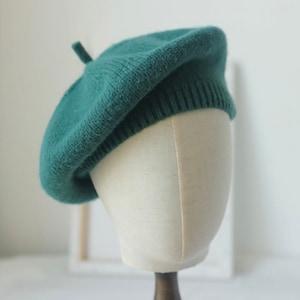 Beret Girl Beret for Women Wool Beret Beret Hat Winter Hat Grapefruit Beret French Beret Tam Fall Fashion