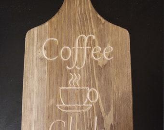 Coffee Club Wall Decor