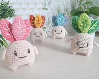 Mandrake - handmade crochet amigurumi