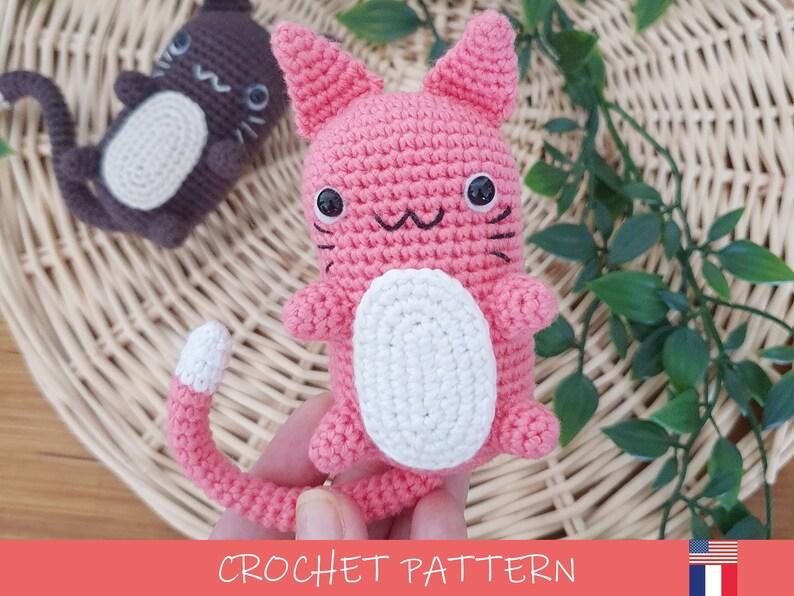 Cat Crochet Pattern  DIY Amigurumi Chaplaplat  image 1