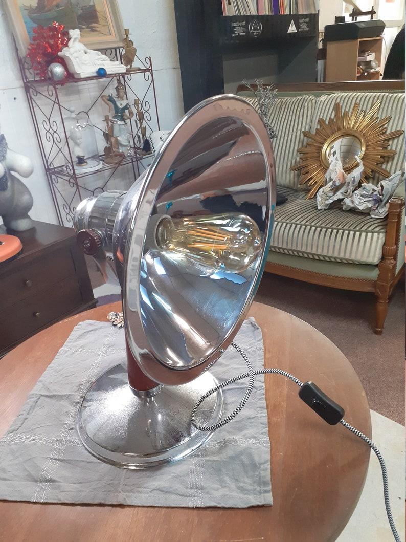 Lampada realizzata da un riscaldamento degli anni '30 MgxUV1UB