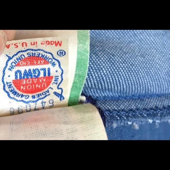 1980's Koret City  Blues  2 pc pant suit - image 5