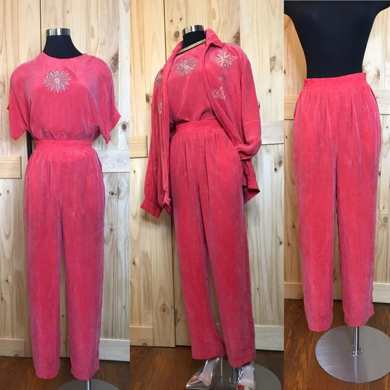80's Saint Germain 3pc w embroidery