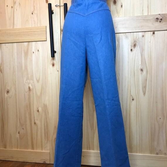 1980's Koret City  Blues  2 pc pant suit - image 3