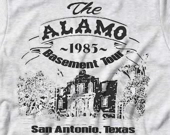 Pee-Wee's The Alamo T shirt ~ 1985 Basement Tour ~ Pee-wee's Big Adventure Tee ~  Womens Mens Girls Adult Cute Herman Shirt ~ Boys Youth