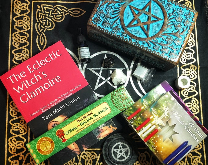 Beginner Witch Kit- Altar & Candle Magick Tools for New Witches