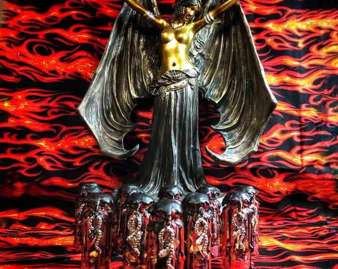 Mini Lilith Devotional Witch Bottle- 20 ml- Newly Redesigned-Protection/Altar Bottle