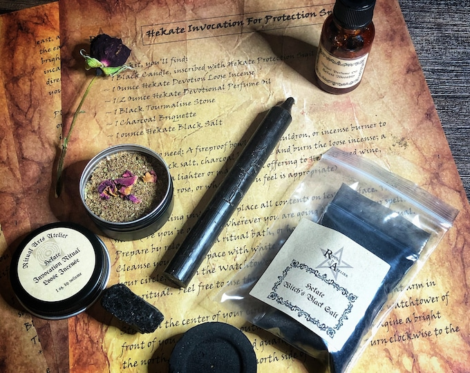 Hekate Invocation For Protection Spell Kit- Kit Includes All Tools Needed To Perform Hekate Invocation Spell