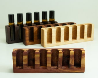 Essential Oil Roller Bottle Storage 10ml, Essential Oil tray, Essential Oil Holder, Aroma Therapy display, Essential oil gift