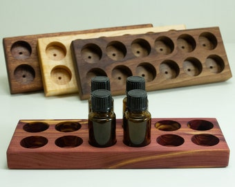 Essential Oil Holder 15 ml , Essential oil shelf, Aroma Therapy display, Essential oil Storage, Essential oil gift, Gift for mom