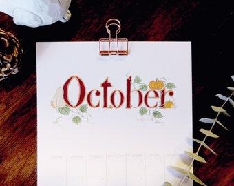 2020 Seasonal Plant Calendar