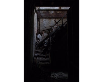 Bryan's Stairs — Photograph of Only Going Up, Archival Print