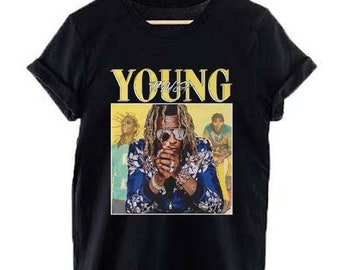 STDONE Mans Casual Young Thug Sweatshirt Black