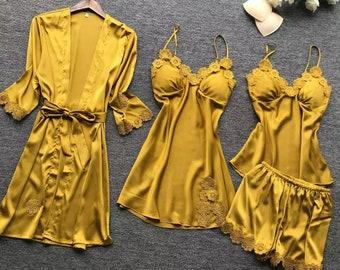 Silk nightwear | Etsy