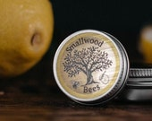 Lemon beeswax lip balm