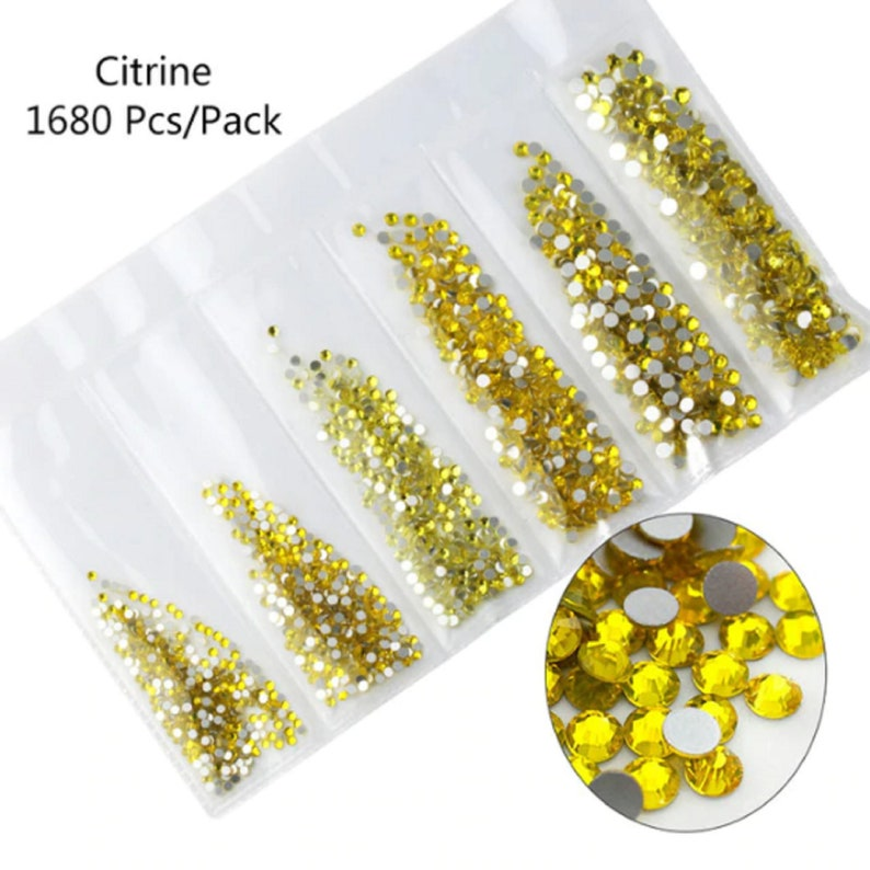 Free Shipping Nails Art Rhinestones Multi-size Glass Nail Rhinestones For Nails Art Decorations Crystals Strass Charms For 3D Nails Art