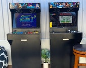 4 Player Arcade Machine Cabinet / Slim Design / Full Size with Thousands of retro games