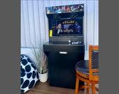 Arcade Machine Cabinet /2 Players/ Full Size Slim Design Assembled