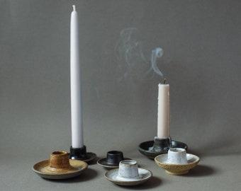 Ceramic Candle Holder Etsy