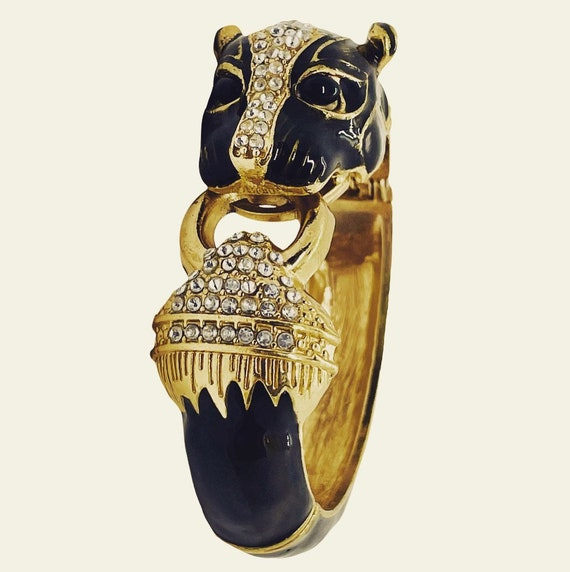 Vintage Panther Cuff