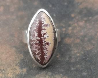 Sonoran Dendritic Rhyolite Ring Size 7 12