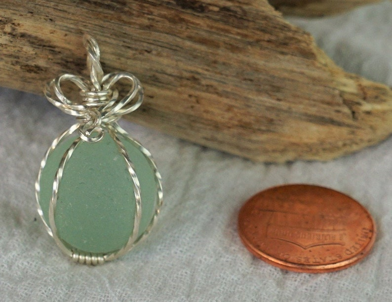 Wrapped and ready Sea Glass MARBLE!