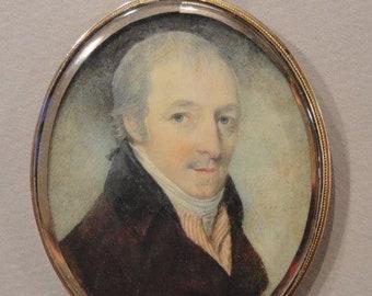 Antique Portrait Miniature