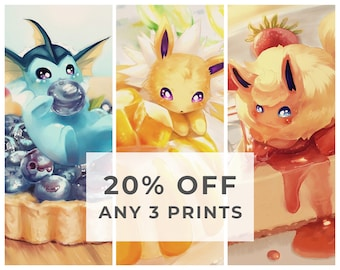 Any 3 Prints - 20% OFF / Any 9 Prints - 33% OFF