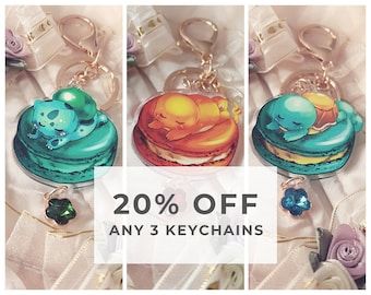 Any 3 Keychains - 20% OFF