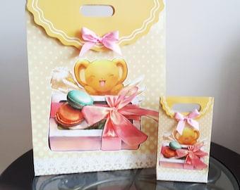 LARGE Cardcaptor Sakura Kero Gift Bag / Paper Gift Bags / Anime Favor Bags