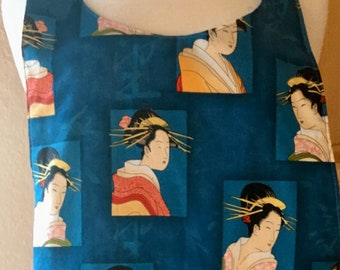 Geisha Reversible Japanese Apron
