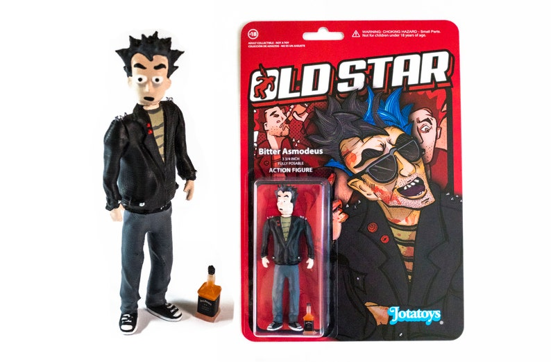 Bitter Asmodeus Old Star Action Figure  Limited edition image 0