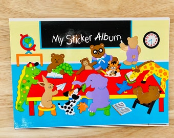 SANDYLION STICKER section 80er 90er papier Chats Sticker Autocollant Album