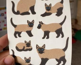 Sandylion TINY FARM ANIMALS Stickers PRISMATIC 1 SQUARE NEW