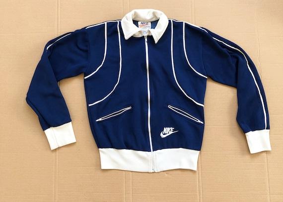 TRUE VINTAGE 70s Nike Track Jacket size Small