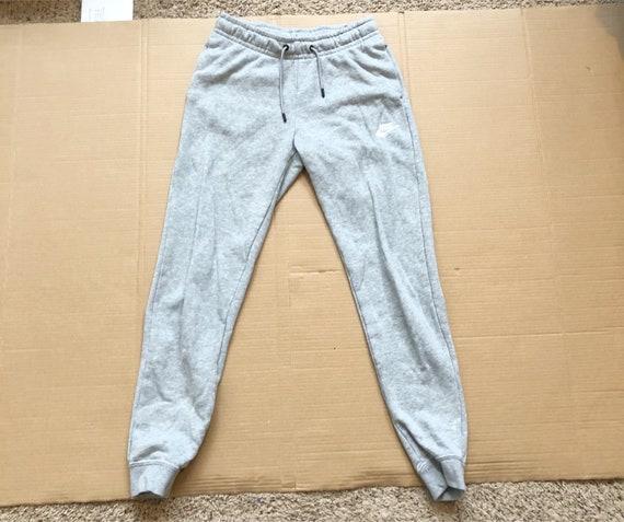 Vintage Nike Gray Jogger Sweatpants size XS