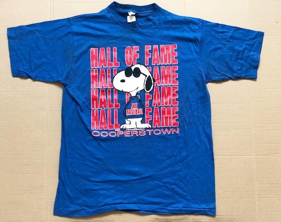 Vintage 70s Snoopy Joe Cool Joe Baseball Hall of F