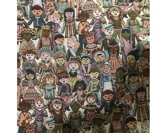 Tapestry Fabric Children of the World
