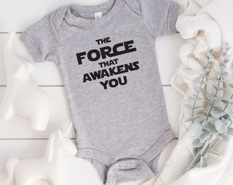 May The force be with you baby bodysuit vest baby grow.