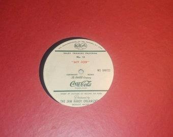 11 Coca Cola Salesman Training LP's Jim Handy 1930's 1940's 1950's RARE