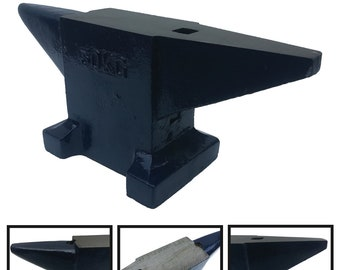 Single Horn Anvil 66Lbs Steel Anvil Blacksmith Rugged Round Horn Anvil Jewelers Metalsmith Blacksmith Tool Forge Tools and Equipment Anvil