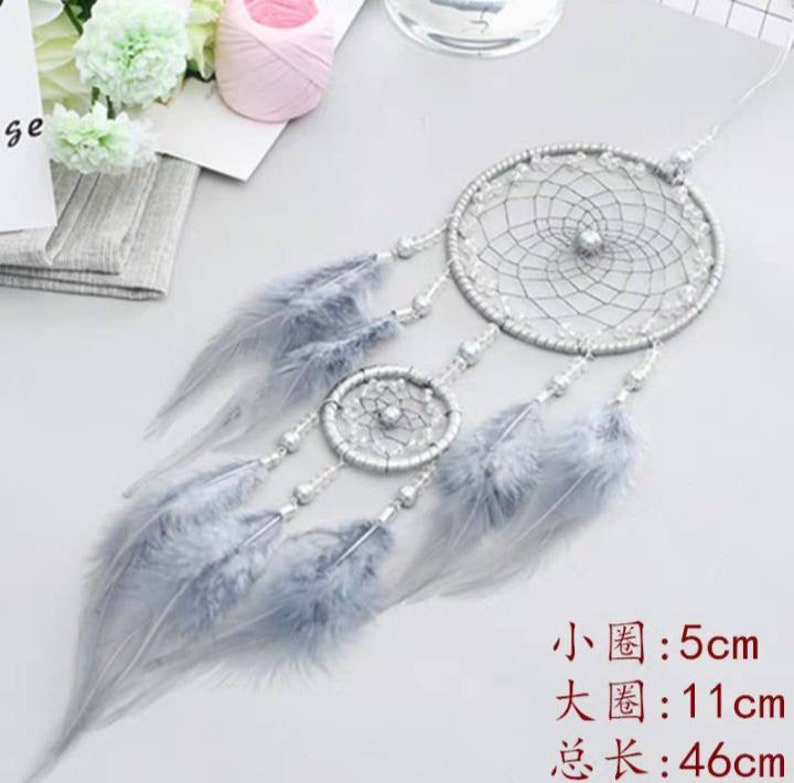 Dream Catcher DIY Kit with Led Light do it yourself Christmas Gift DIY Craft