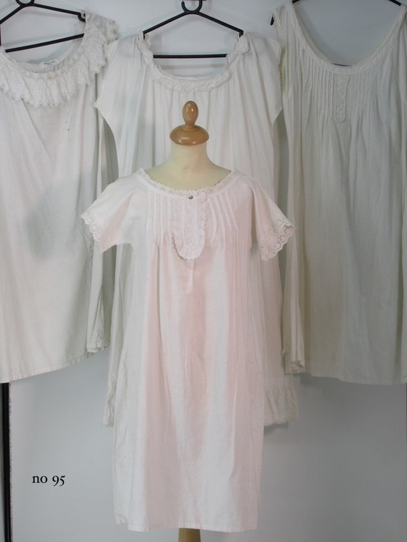 Ladies vintage victorian night gowns