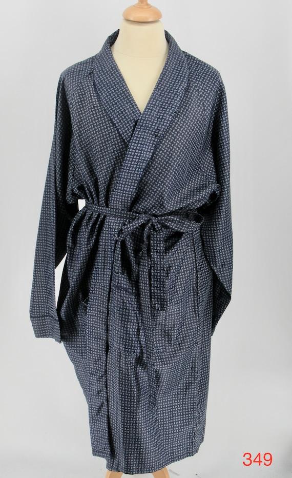 mens silk dressing gown