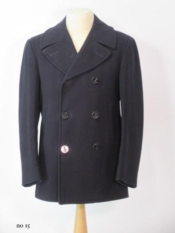 1940/1950's Men vintage Naval coat