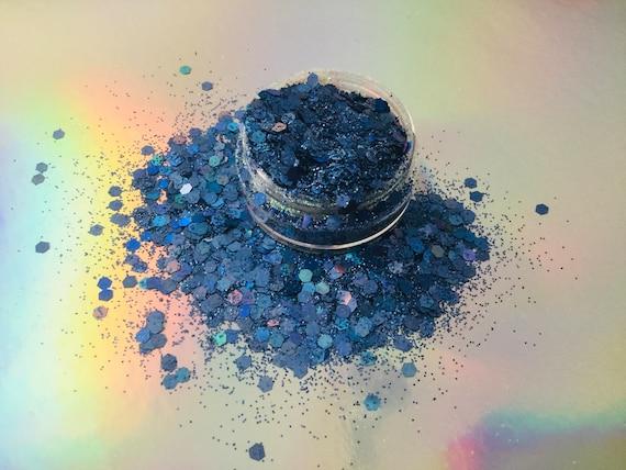 resin supplies nail art glitter craft supplies mermaid dreams 20g silver holographic chunky glitter holographic glitter