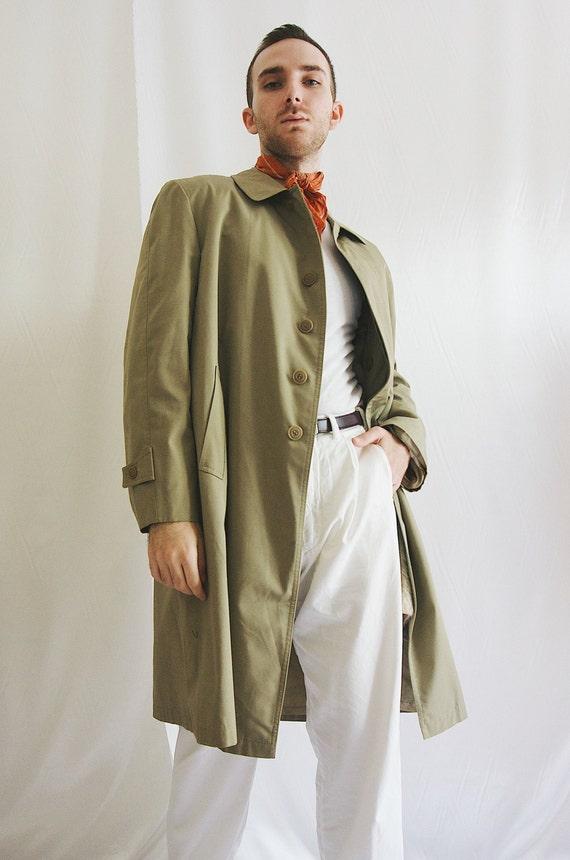 90's Minimal Trench Coat